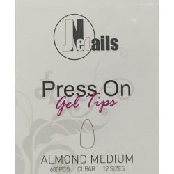 TIP GEL PRESS ON  600 PZ...